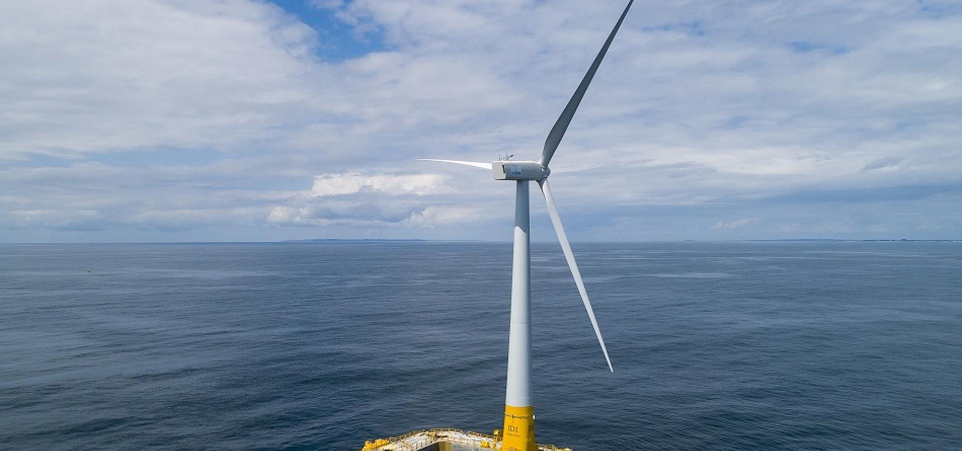 BW Ideol's floating wind technology