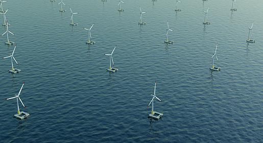 Ideol floating wind farm